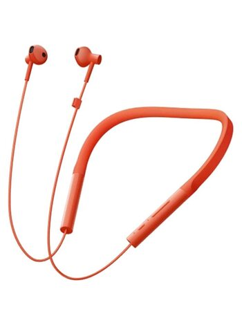 Наушники Bluetooth Xiaomi Neckband Earphones Basic Orange