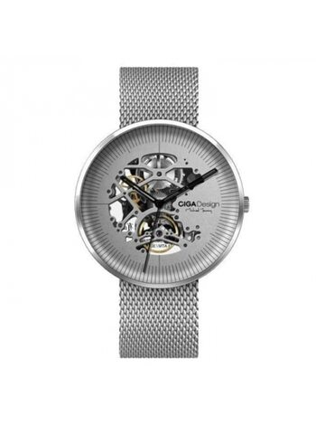 Часы механические Xiaomi CIGA Design Mechanical Watch Round Meteorite Silver