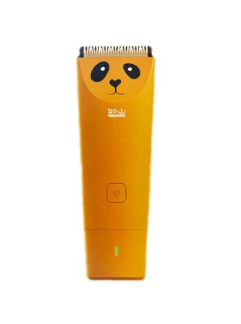 Машинка для стрижки детей Xiaomi Mijia Luns Mute Baby Elektric Hair Clipper Trimmer  Orange
