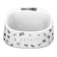 Миска-весы Xiaomi Petkin Smart Weighing Bowl White Dogs Pic