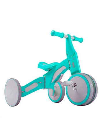 Детский велосипед Xiaomi Mijia 700Kids Child Deformable Balance Car Tricycle 2in1 Зеленый