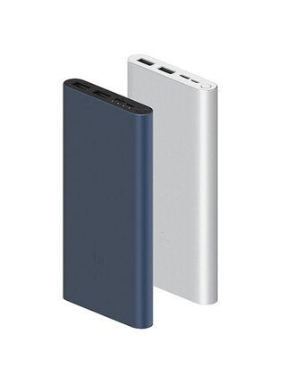 Внешний аккумулятор Xiaomi Power Bank 3 10000mAh PLM13ZM Silver  CN