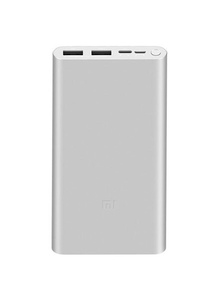 Внешний аккумулятор Xiaomi 18W Fast Charge Power Bank 3 PLM13ZM 10000mAh Silver GL