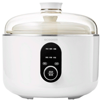 Мультиварка-пароварка Xiaomi Qcooker Round Small Stew Electric Cooker 2.5л (CR-DZ01) White