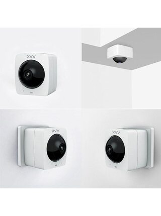 Камера IP Xiaomi Xiaovv Smart Panoramic 1080P White (XVV-1120S-A1)