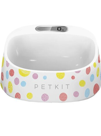 Миска-весы Xiaomi Petkin Smart Weighing Bowl White Color Dots
